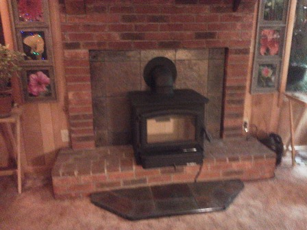 Buck Stove Model 74, Wood-burning, installed by The Stoveman