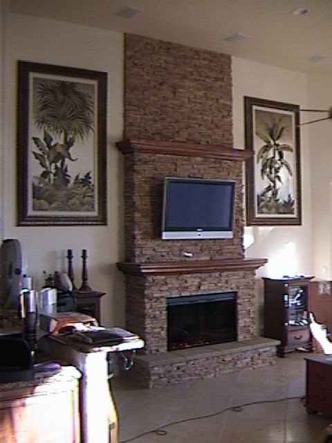 The Stoveman Fireplace Mantle and Surround