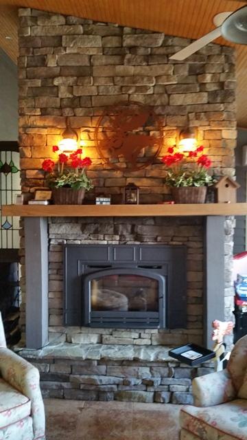 Napoleon EP13T EPA Wood-Burning Fireplace Insert Installed by The Stoveman