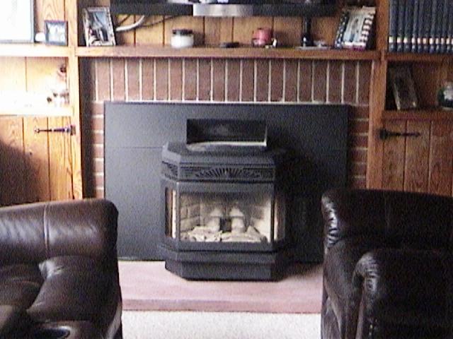 Savannah's Tasman 40I Fireplace Pellet Insert Installed by The Stoveman