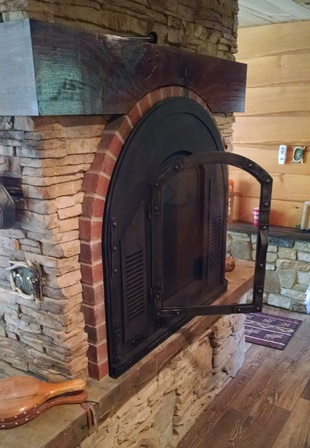 The Stoveman Inc, Stoll Fireplace Glass Doors, Old World, Burnished Bronze